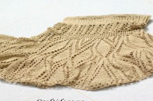 crochet lace skirt for girl, crochet pattern