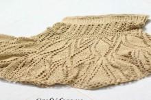 crochet lace skirt for girl, crochet pattern