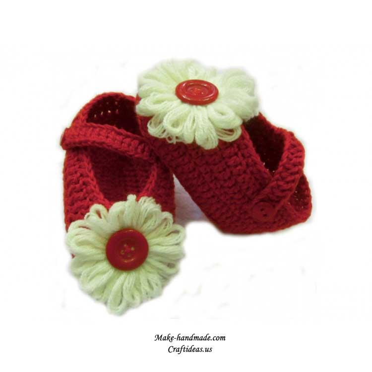 crochet booties ideas