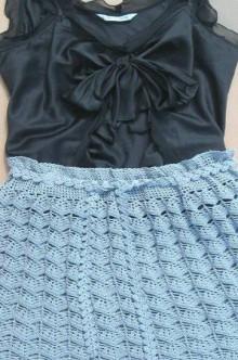 crochet cute skirt