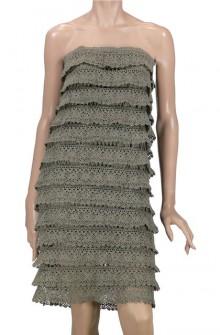 crochet dress and sweater