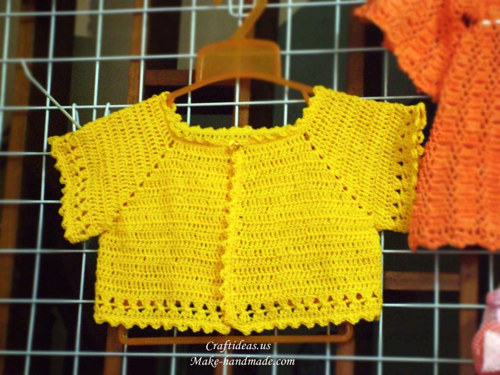 crochet easy bolero