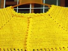 crochet easy baby bolero