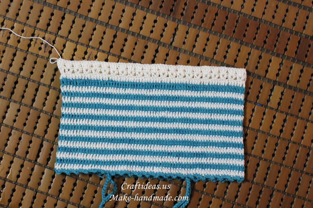 crochet easy top dress
