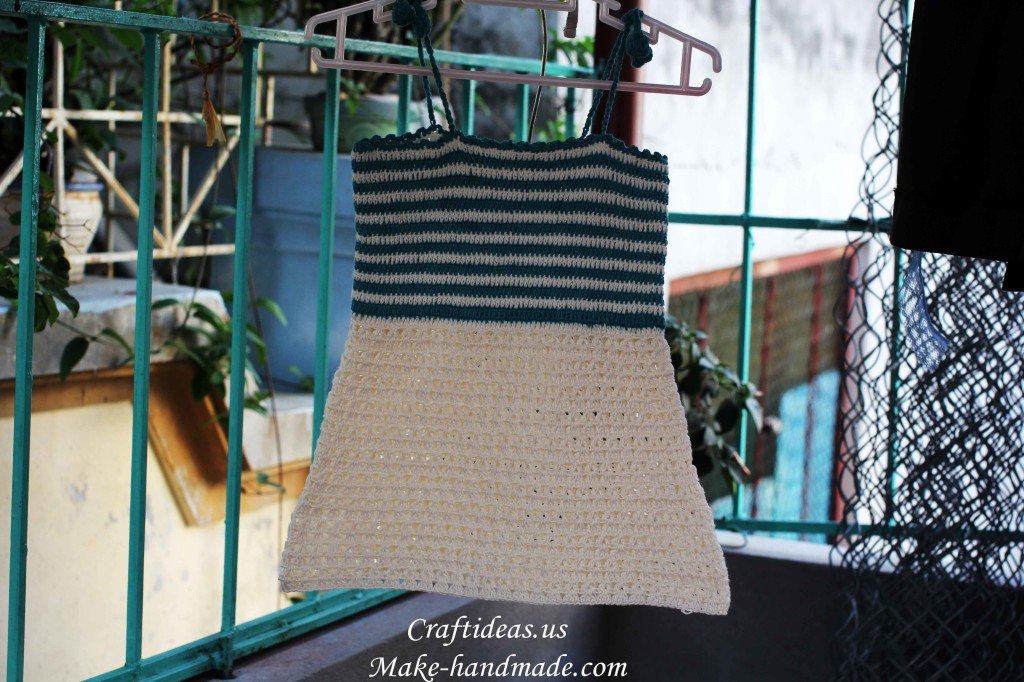 crochet handmade dress