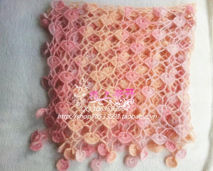 Crochet Lace Heart Scarf Crochet Pattern Make Handmade Crochet