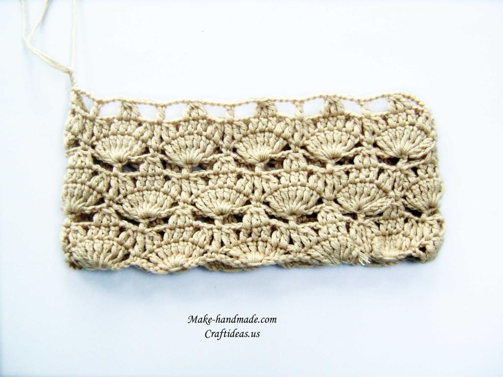 crochet lace leaf hat
