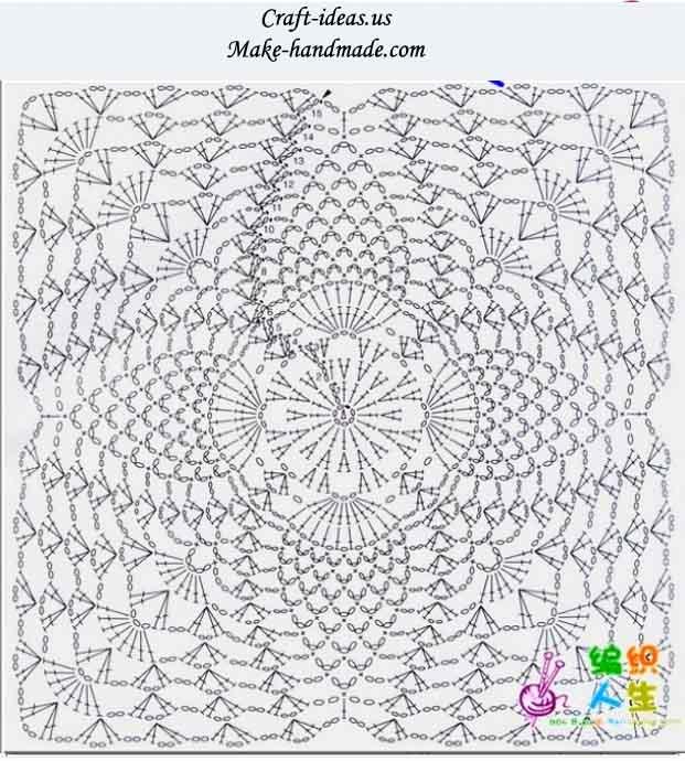 crochet lacw flower vest