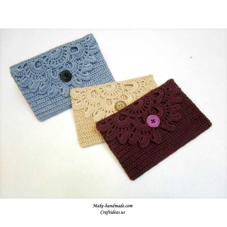 crochet women purse
