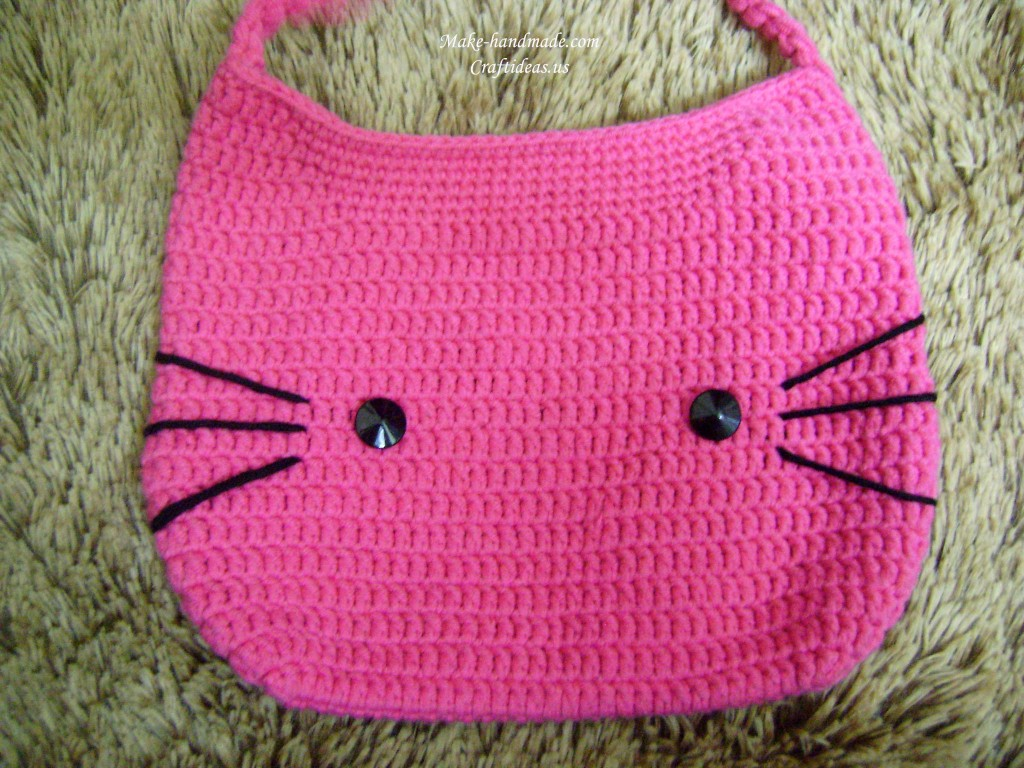 Crochet Baby Purse : crochet hello kitty, hello kitty crochet, and hello kitty bag and hat