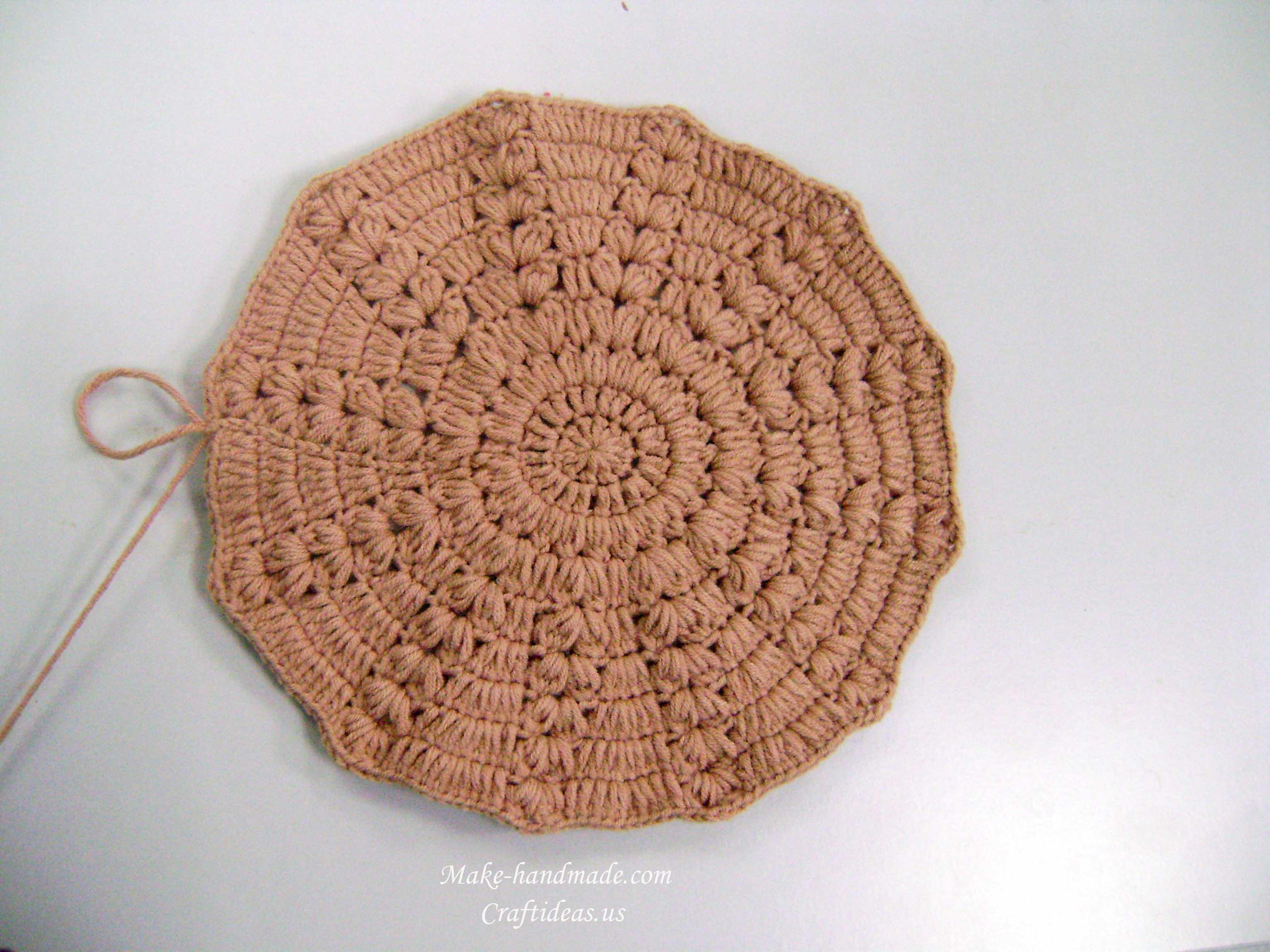 crochet baby beanie ideas