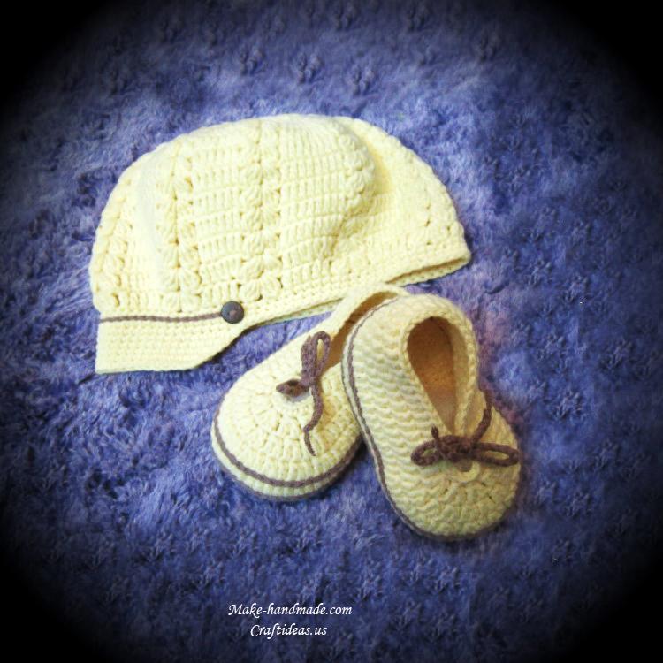 手工编织婴儿帽子_编织图解教程