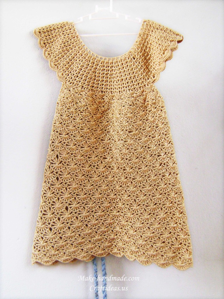 Crochet Baby Dress Crochet Pattern Make Handmade Crochet Craft
