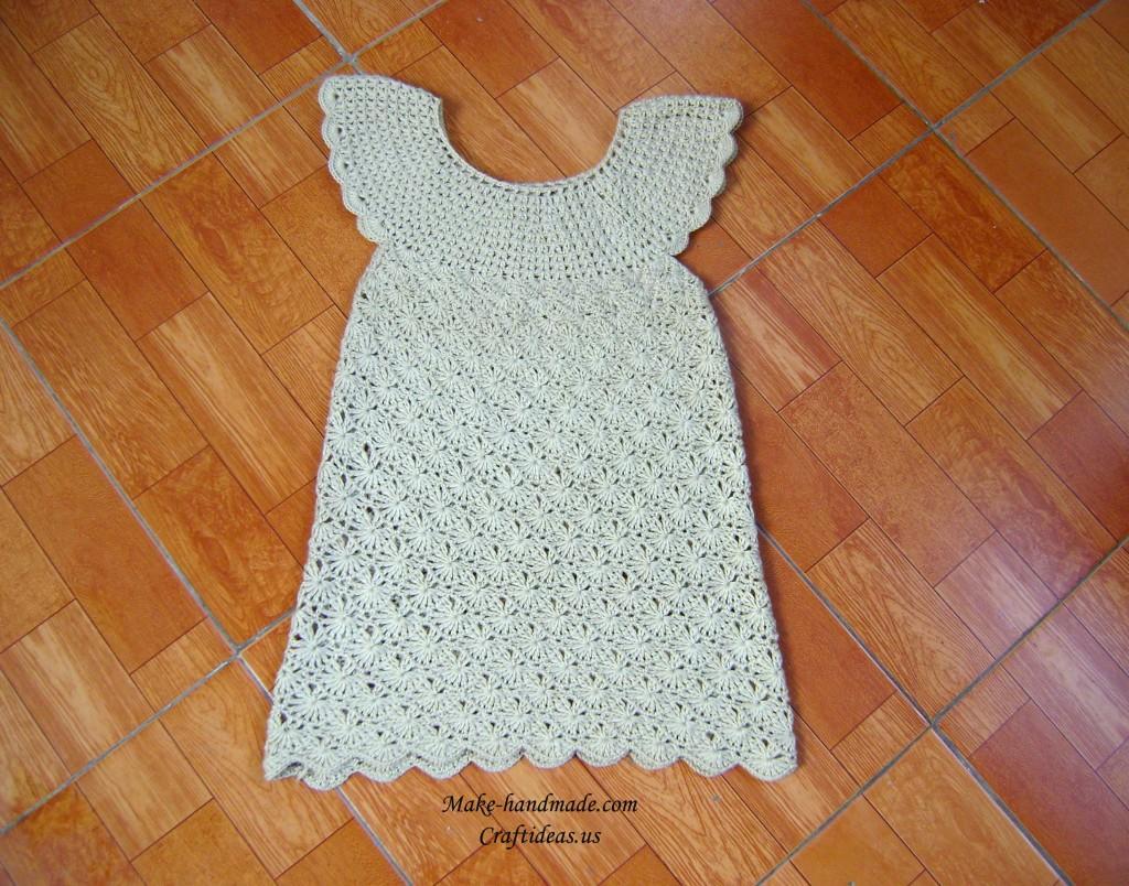 crochet baby dresses ideas