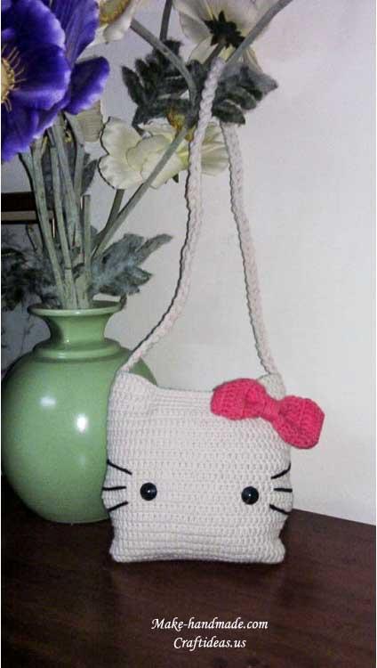 crochet baby handbag