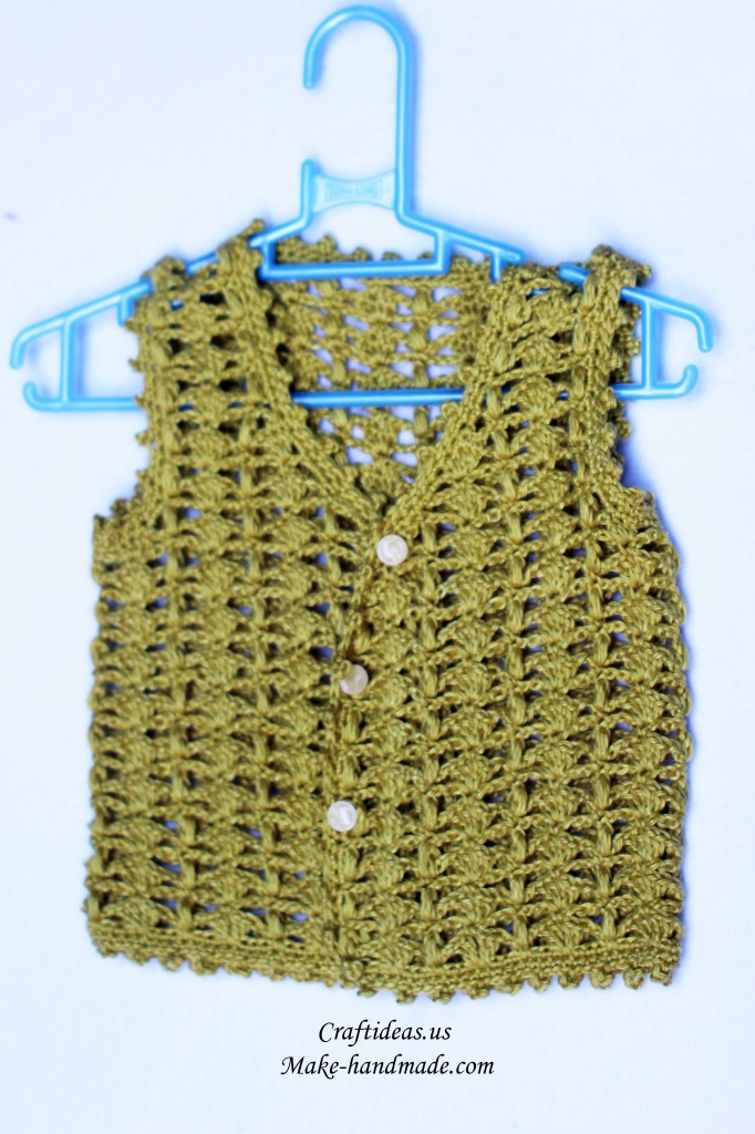 crochet baby lace sweater