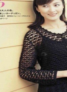 crochet beauty and charming lace summer sweater