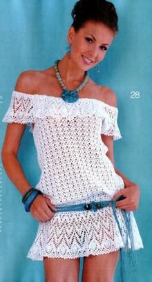 crochet beauty dress for beach