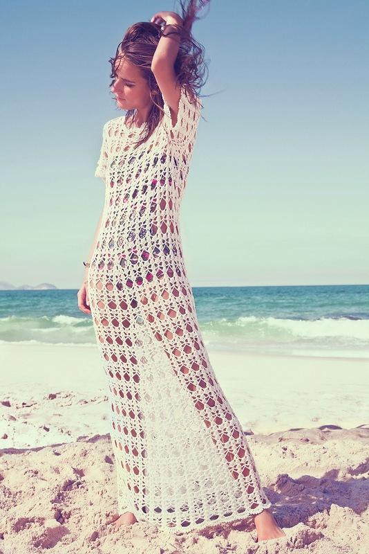 Вязанное для пляжа 126