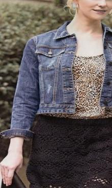 crochet beauty lace skirt, crochet pattern