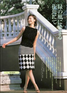 crochet black and white skirt for girl, crochet pattern