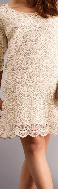 crochet so cute dress for summer