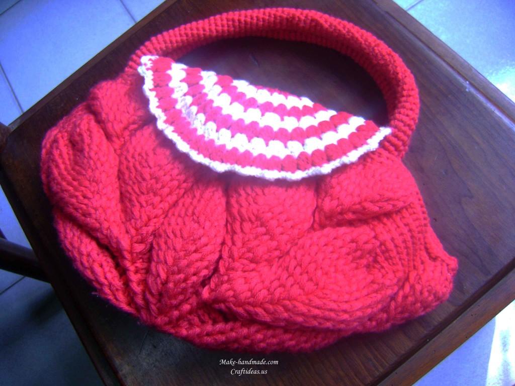 crochet cute handbag