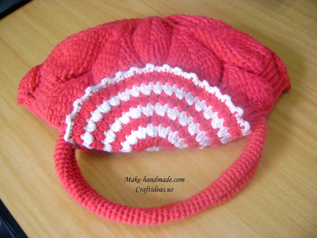 crochet cute handbag for girl