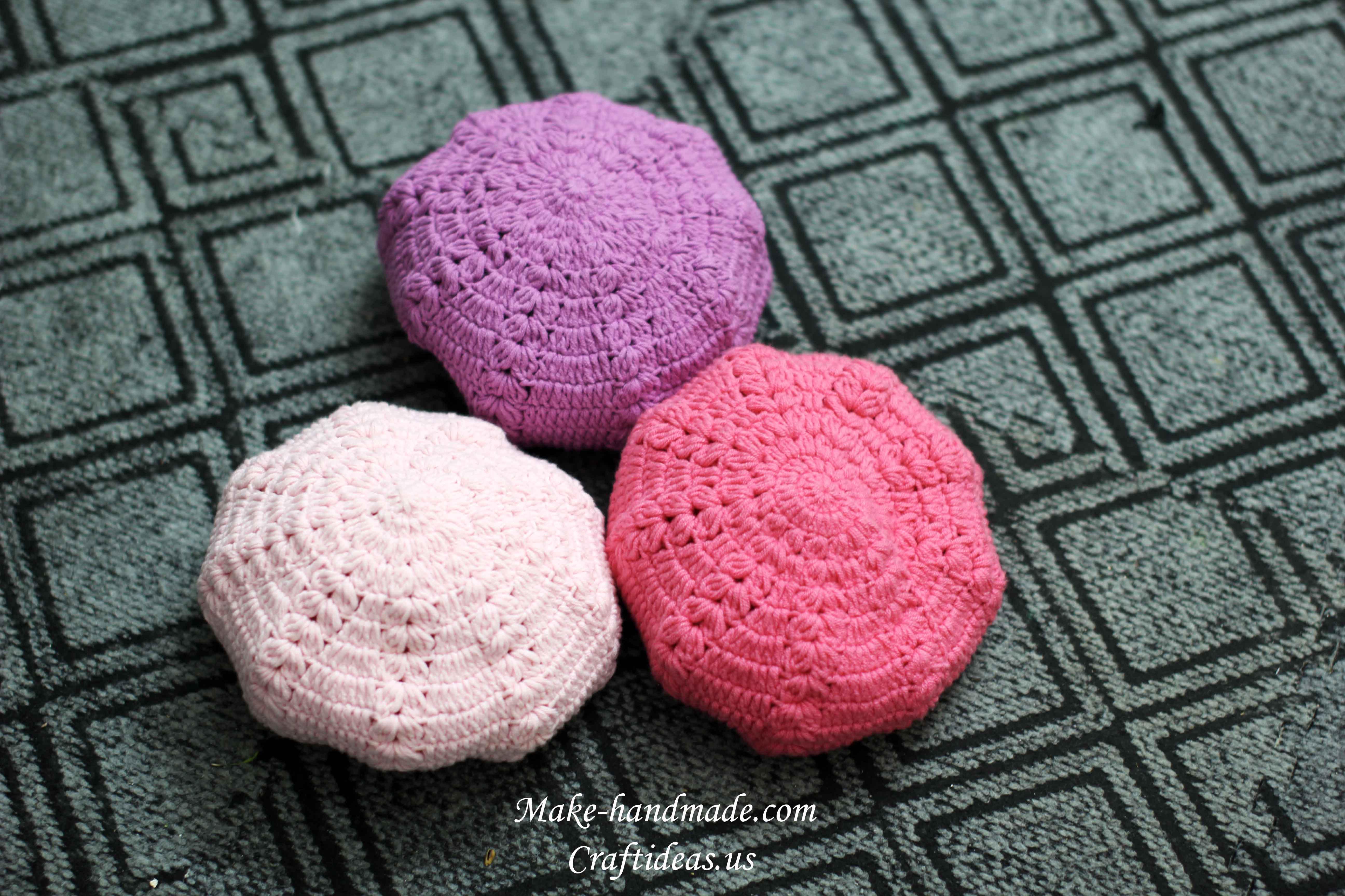crochet cute hat