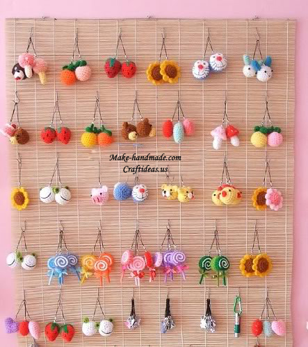 crochet cute keychains