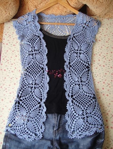 Crochet Lace Vest And Jacket For Girl Make Handmade Crochet Craft