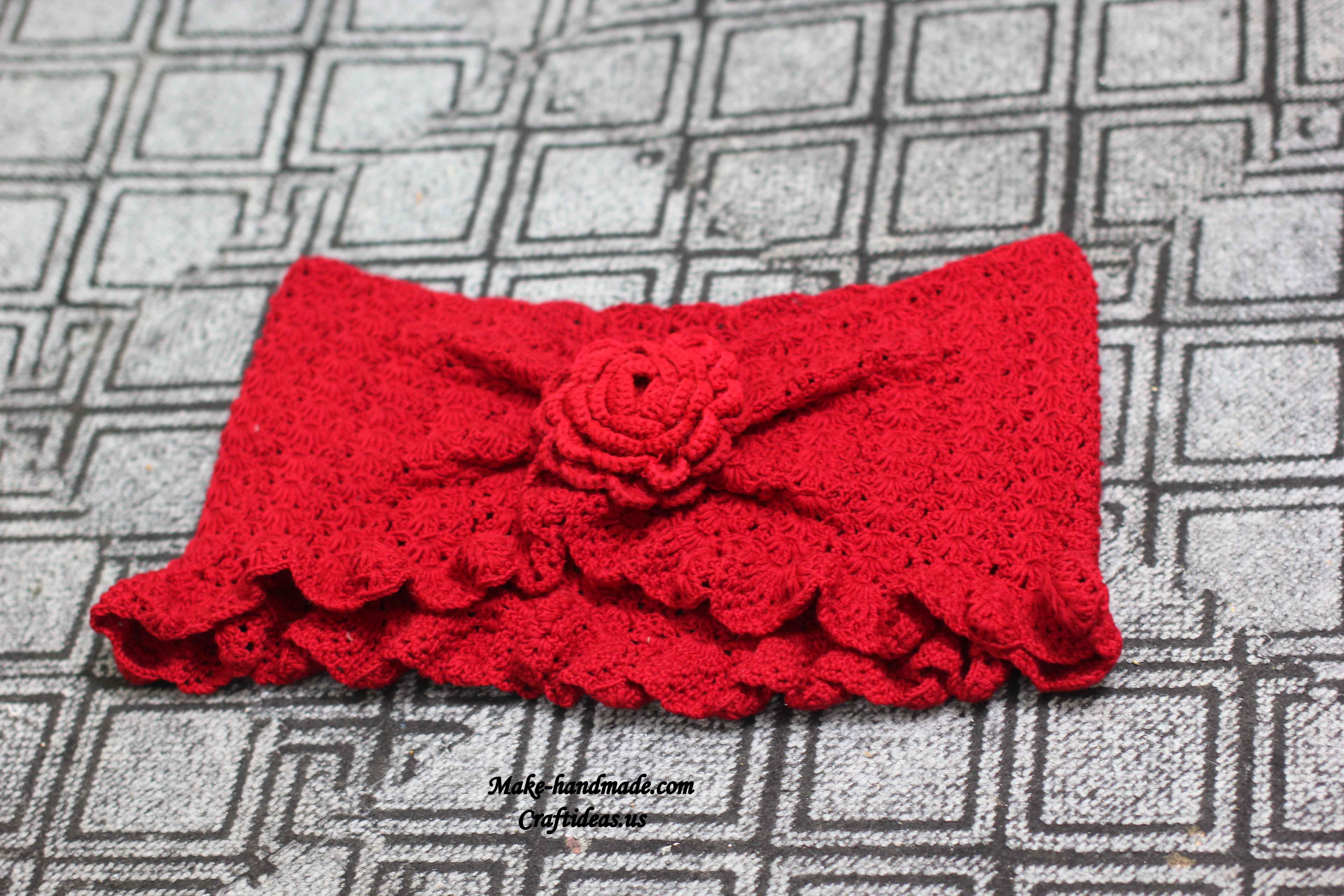 crochet ladies scarf ideas