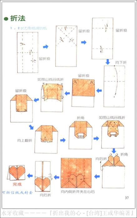 Как сделать коробочку-сердечко из бумаги оригами