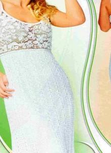 irish lace dress, crochet pattern
