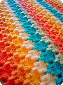 larksfoot crochet pattern stitch – baby afghan crochet geek