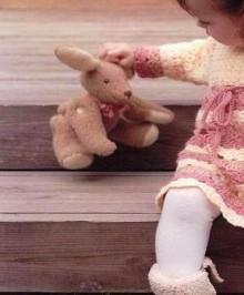 crochet baby dress, crochet pattern