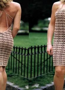 crochet beauty lace summer dress