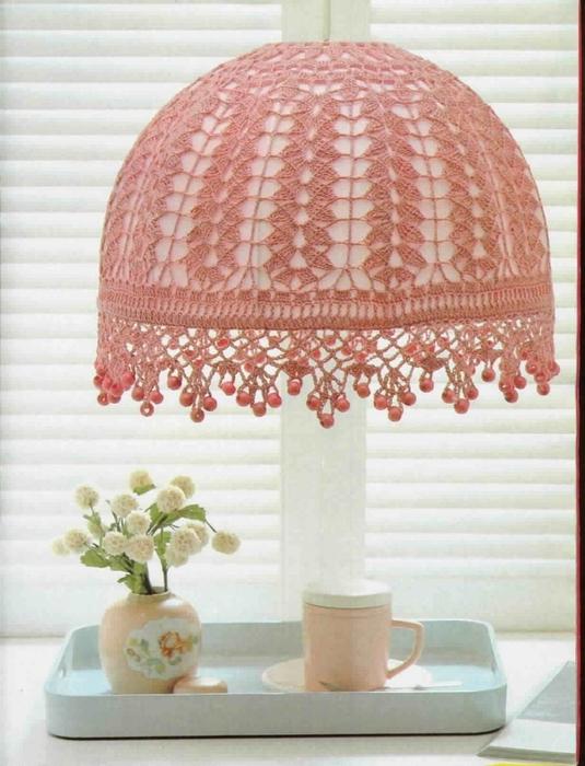 Crochet Beauty Lampshade Crochet Pattern Make Handmade Crochet