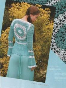 crochet charming lady pullover, crochet pattern