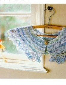 crochet easy and cute colar
