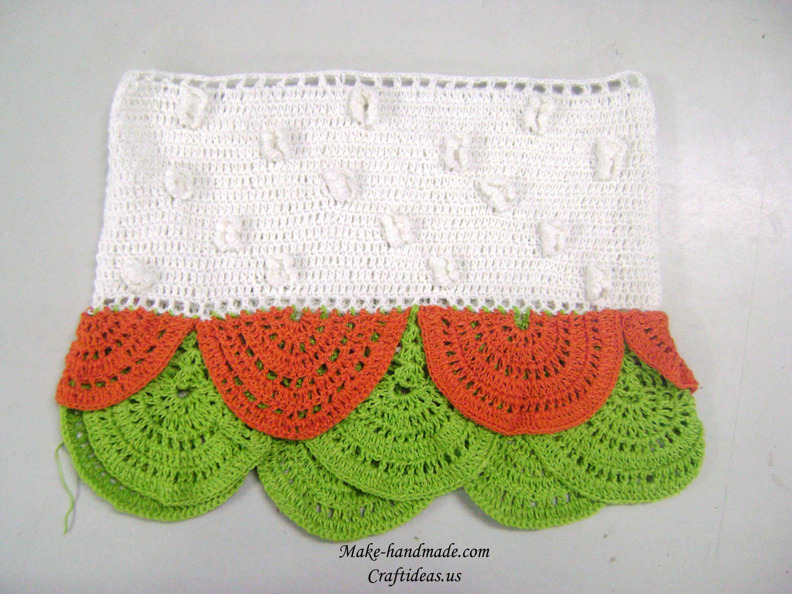 crochet fish skin dress