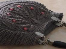 crochet handbag, crochet pattern