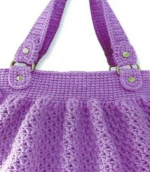 crochet handbag for girl, crochet pattern