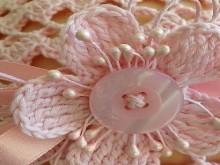 crochet lace beret, crochet pattern