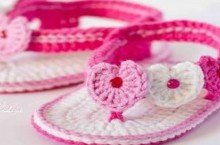 crochet shoes and sandal for kids, video tutorial