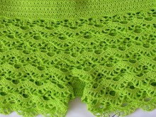 crochet so beauty shorts , crochet pattern