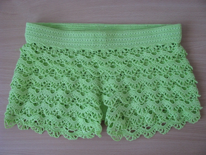 Crochet So Beauty Shorts Crochet Pattern Make Handmade Crochet