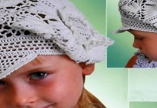 crochet so cute irish beret