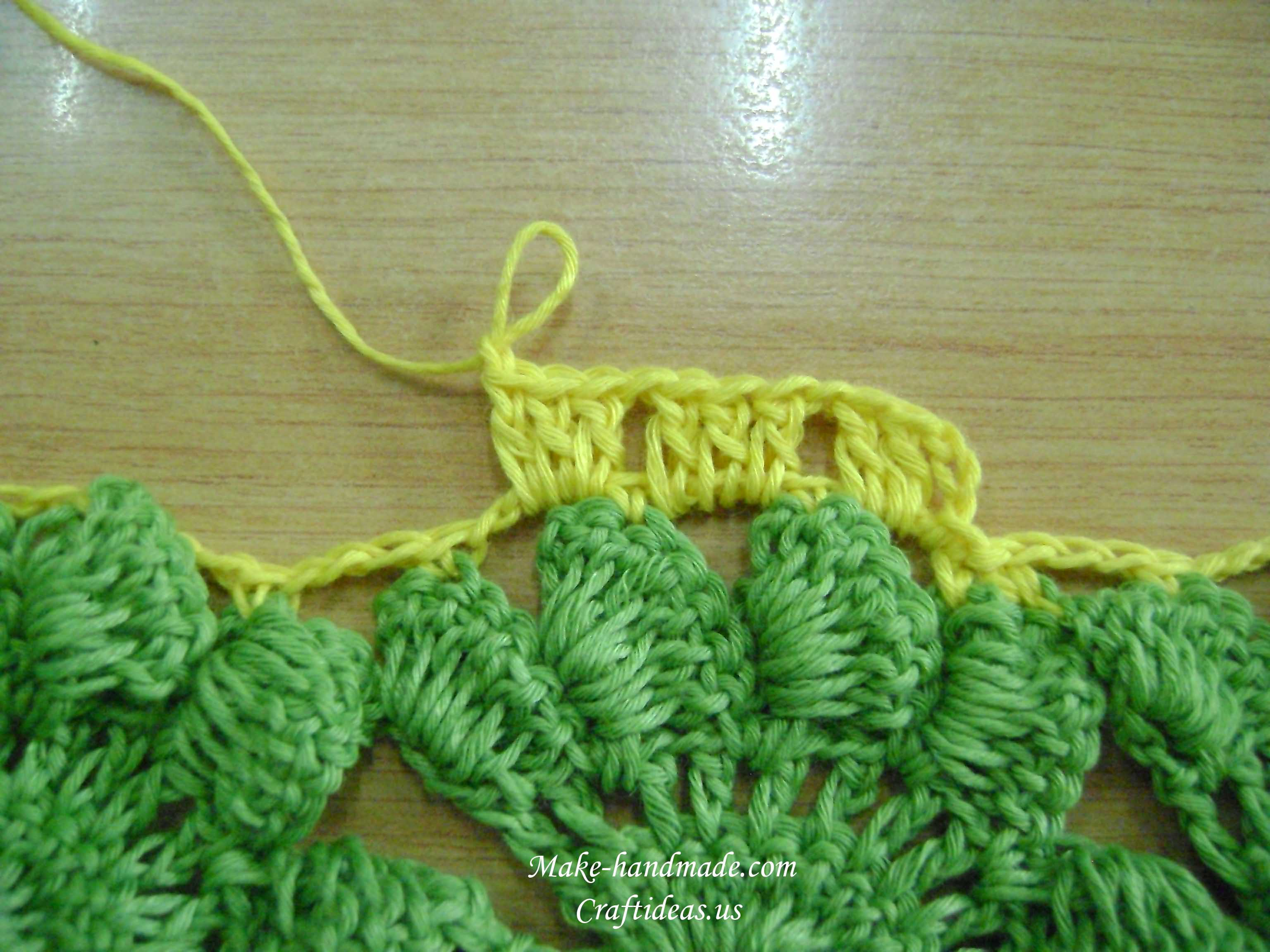 tutorial de crochet