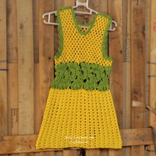 crochet so cute baby dress for summer